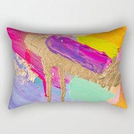 Contemporary abstract painting Rectangular Pillow