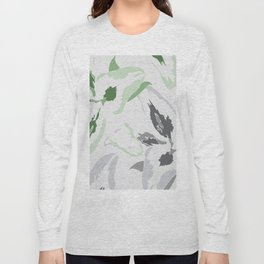 FLORAL ABSTRACTION 2 Long Sleeve T-shirt