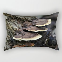 Forest Fungi Rectangular Pillow