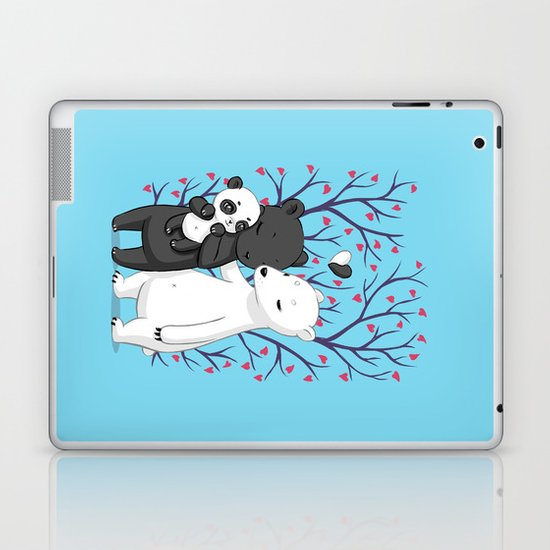 Bear Family Laptop & iPad Skin