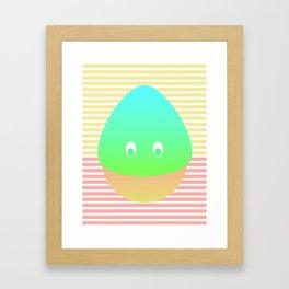 momochi Framed Art Print