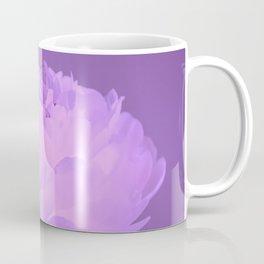 Single peony (ultra violet) Coffee Mug