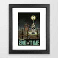 Chrono Trigger End of Time Travel Poster Framed Art Print