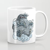 yeti Mugs featuring Yeti by David Comito