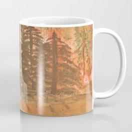 Sunrise In The Woods Coffee Mug