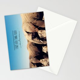 Crazy little thing called distancia  Stationery Cards