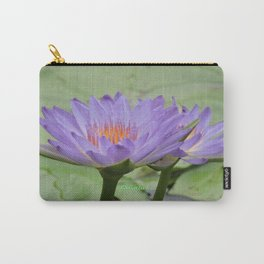 Blue Water Lilies in Hangzhou Carry-All Pouch