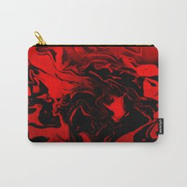 Vampire - red and black gradient swirls Carry-All Pouch