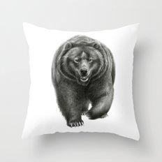 Brown Bear SK068 Throw Pillow