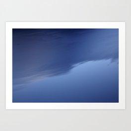 KALTES KLARES WASSER - Cold Clear Water Art Print