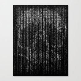 Matrix skull | The matrix | Skull | Skulls | Red pill | Blue pill Canvas Print