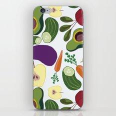 vegetables iPhone & iPod Skin