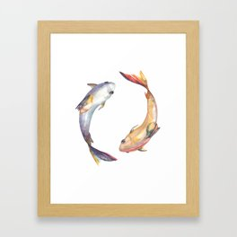 Yin&Yang Framed Art Print