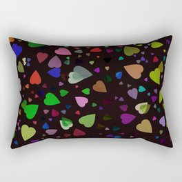Tilia colorful abstract design Rectangular Pillow