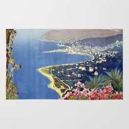 Vintage Post Card 1920 San Remo Rug