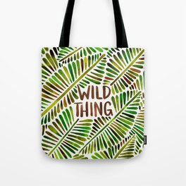 Wild Thing – Green Palette Tote Bag