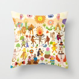 Chill Out Throw Pillow