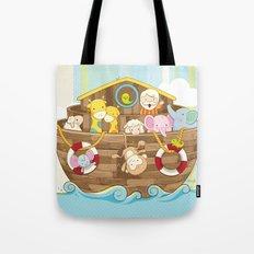 Baby Noah Ark Tote Bag