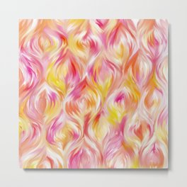 pastel pattern #society6 #decor #buyart Metal Print