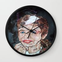 rogue Wall Clocks featuring ROGUE by JANUARY FROST