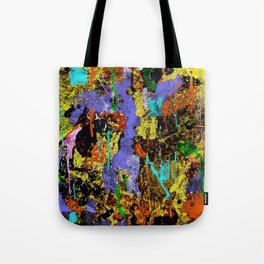 Detour Abstract Art Tote Bag