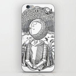 Space Knight Tess iPhone Skin