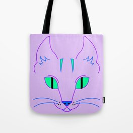 Funky Cat Tote Bag