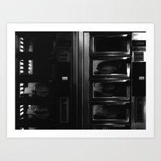 Burger Box Art Print