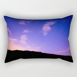 Milky Way Sun Rise Sky Rectangular Pillow