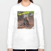 photographer Long Sleeve T-shirts featuring Photographer by Robert Raney