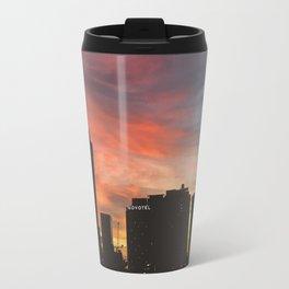 Sunset in the City Travel Mug