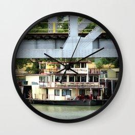 Captain Proud - Under the Bridge Wall Clock