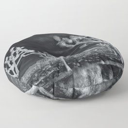 Joshua Tree InfraRed by CREYES Floor Pillow