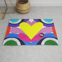 CRAZY COLORFUL Rug