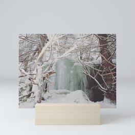 Frozen Runoff Mini Art Print