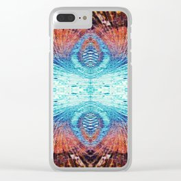 Glass and Light Fusion Clear iPhone Case