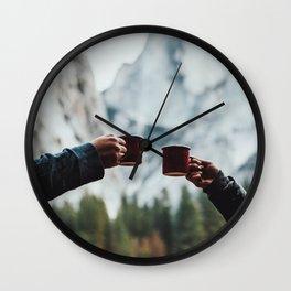 Morning Coffee Wall Clock