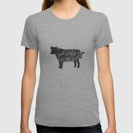 Beef Butcher Diagram T-shirt