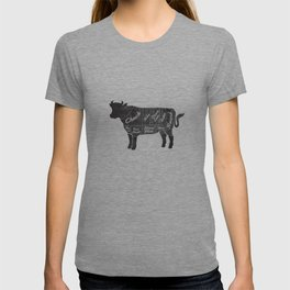 Beef Butcher Diagram T-shirt