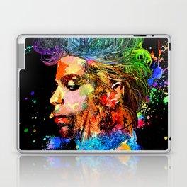 Prince Profile Grunge Laptop & iPad Skin