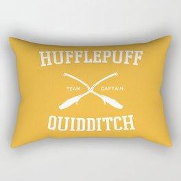 Hogwarts Quidditch Team: Hufflepuff Rectangular Pillow