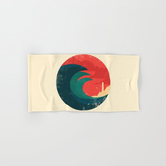 The wild ocean Hand & Bath Towel