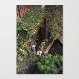 Down at the Riverwalk Canvas Print