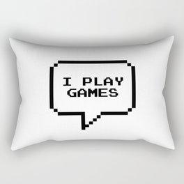 Play games Rectangular Pillow