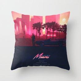 HOTLINE MIAMI ORIGINAL REVAMPED Throw Pillow