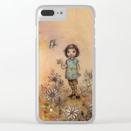 Adopt the Pace of Nature Clear iPhone Case