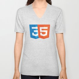 Html5 and CSS3 Unisex V-Neck