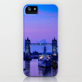 The Thames, early morning iPhone Case