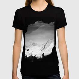 Snowy Isolation T-shirt