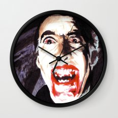 The Horror of Dracula Wall Clock